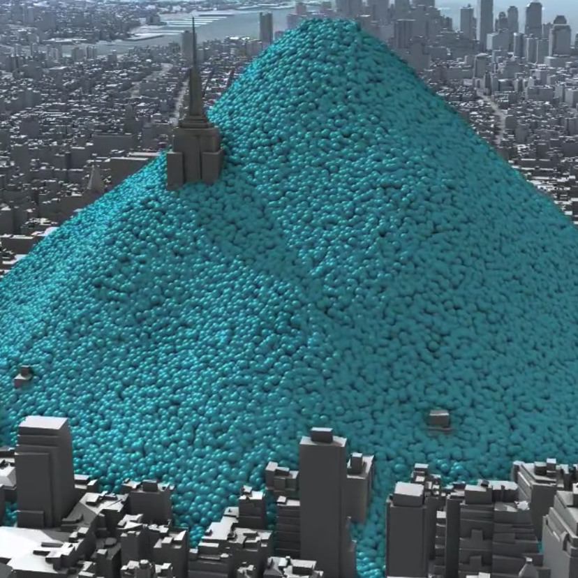 One Day Of New York City'��s Carbon Dioxide Emissions