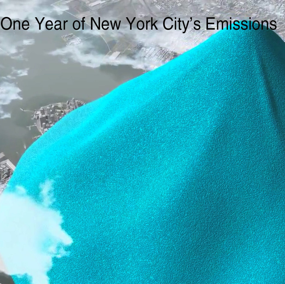 One Year'��s Emissions From Above