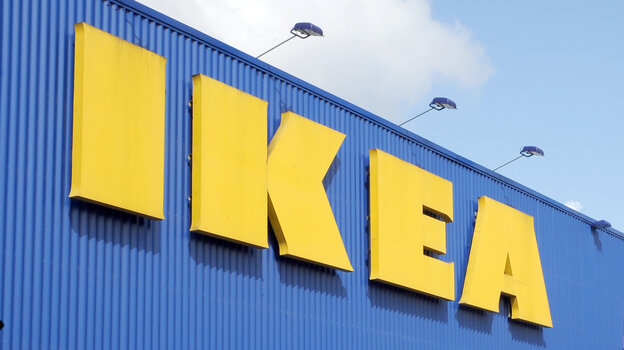 An IKEA store in Lille, France.