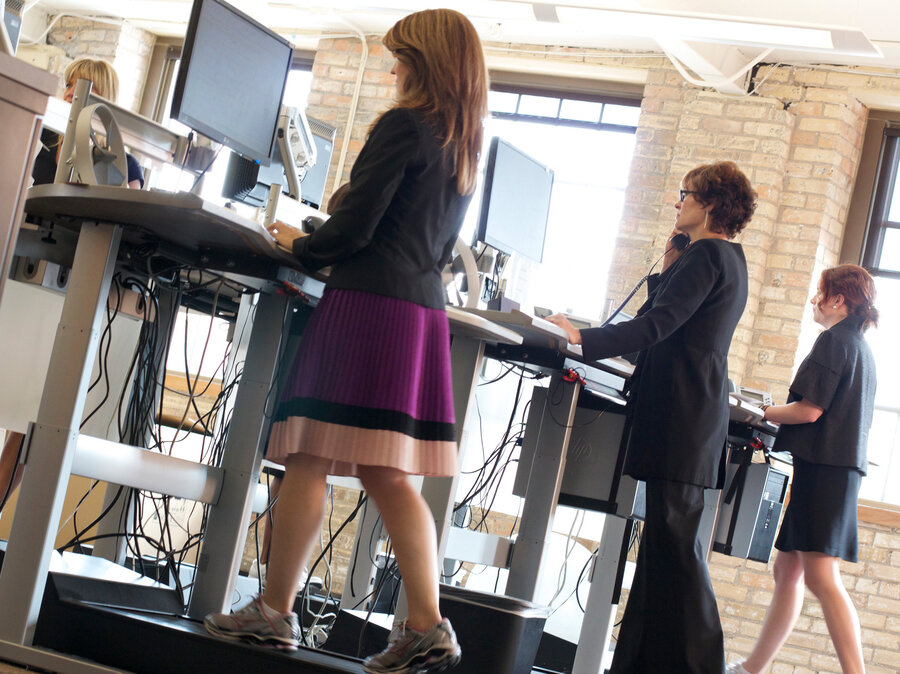 Can You Move It And Work It On A Treadmill Desk Shots Health