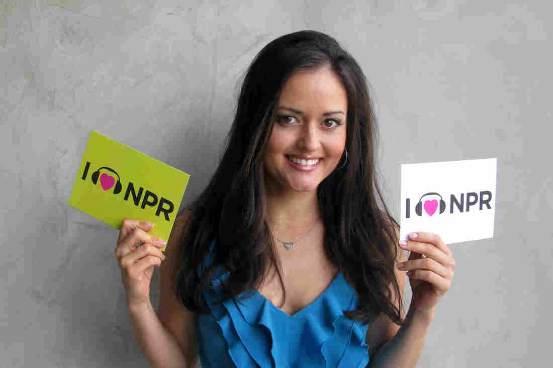 Danica McKellar at NPR West.