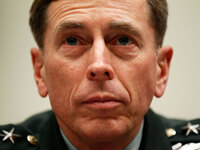 David Petraeus testifies during a hearing before the House Armed Services Committee in June 2010.