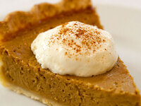 This might look like pumpkin pie, but it's actually a gluten-free twist on tradition: Stephanie Stiavetti's <a href=