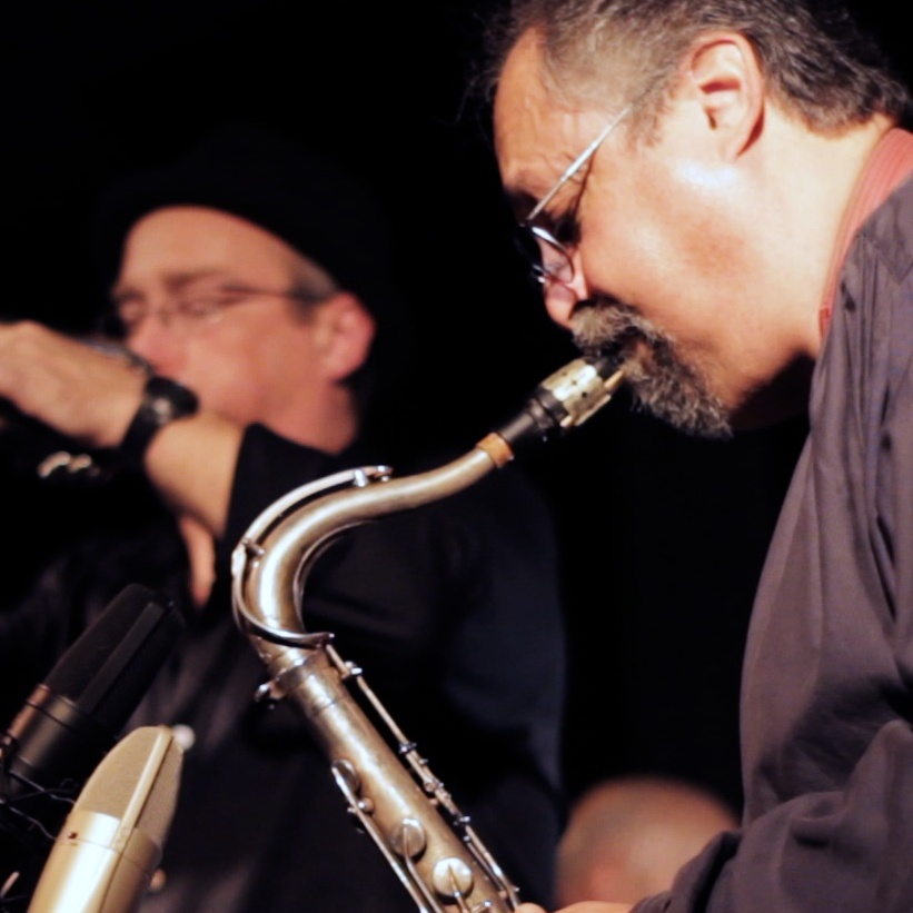 Saxophonist Joe Lovano and trumpeter Dave Douglas lead the Sound Prints Quartet.