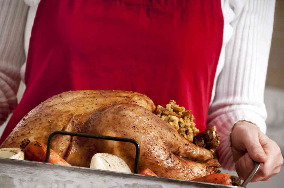 Picture-perfect turkey? Ours might not turn out quite like this one. And that's OK.