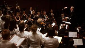 John Eliot Gardiner and his Orchestre Revolutionaire et Romantique and the Monteverdi Choir performed Beethoven's Missa Solemnis at Carnegie Hall on November 17, 2012.