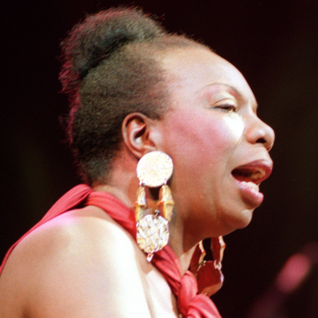 Simone sang late into her life before she died in 2003 at age 70.
