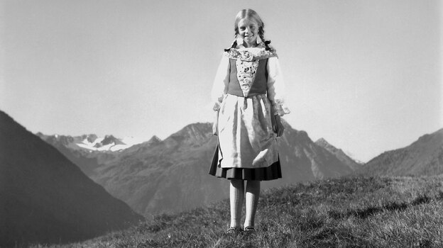The 1968 film Heidi, starring Jennifer Edwards, was based on a best-selling children's book about an 8-year-old Swiss orphan. (NBC via Getty Images)