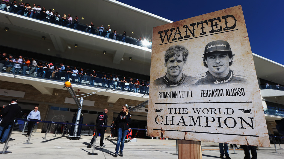 Coming into the U.S. Grand Prix, Sebastian Vettel and Fernando Alonso are the two remaining contenders for the 2012 World Championship for drivers. (Getty Images)