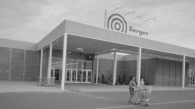 This is among the first Target stores. The company now operates 1,782 stores across the United States. (Courtesy of Target)