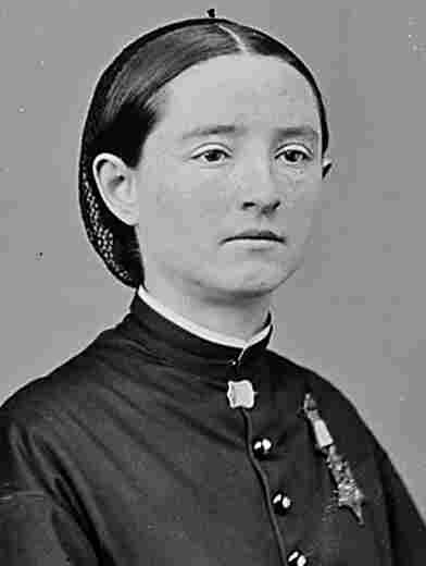 A portrait of Mary Walker from the National Archives.