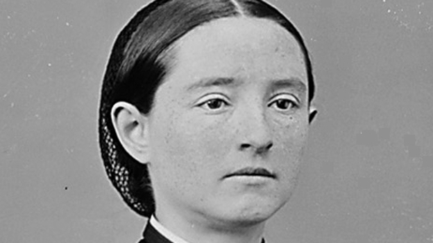 A portrait of Mary Walker from the National Archives. (NARA)