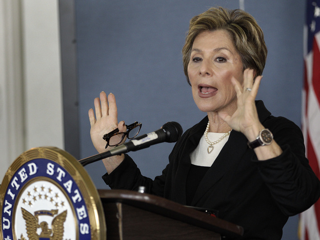 California Sen. Barbara Boxer says women are still making progress on closing the gender gap in Congress.