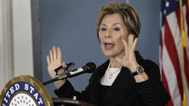California Sen. Barbara Boxer says women are still making progress on closing the gender gap in Congress. (AP)