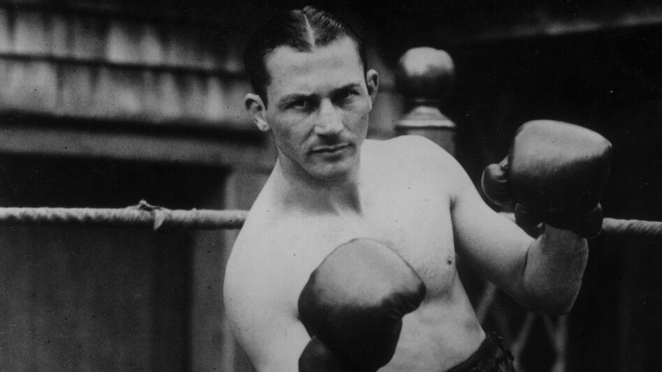 American lightweight Benny Leonard, pictured in 1925, is remembered as one of boxing's greatest. (Getty Images)