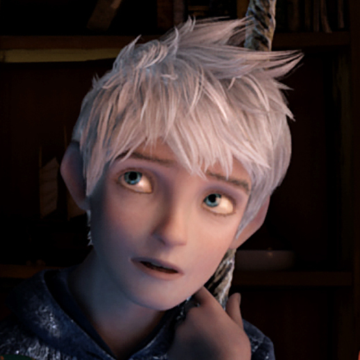 Tooth and Jack Frost keep watch over Jamie (Dakota Goyo).