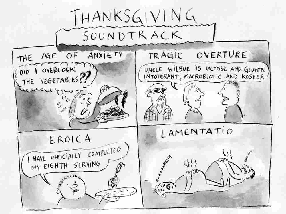 Thanksgiving Soundtrack by Pablo Helguera.