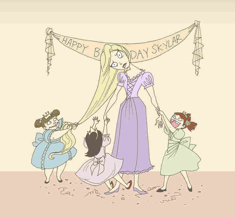 "Mary Alice LeGrow, or Princess Marty, is a professional party princess. ""You have to know how to work with children,"" says LeGrow, who illustrates and blogs about the experience. ""You have to deal with every type of child and realize every child is special, and every child deserves the best party no matter how much work it takes."""