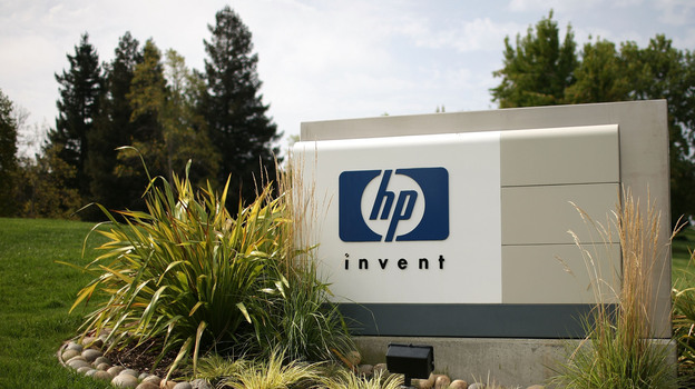 At Hewlett-Packard headquarters in Palo Alto, Calif. (Getty Images)