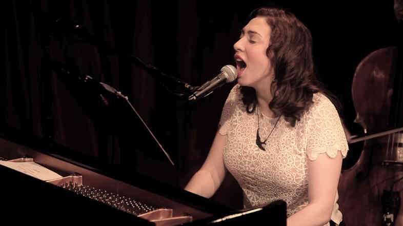 Regina Spektor performs for KCRW.