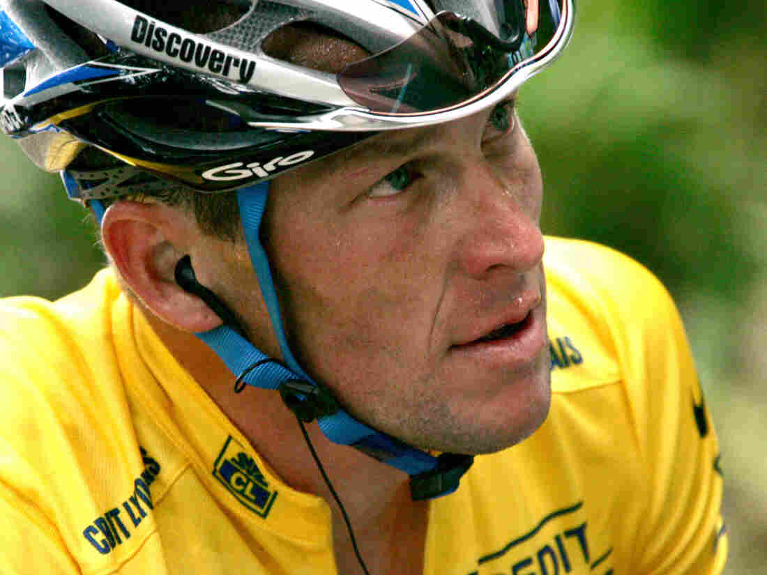 Lance Armstrong, shown here in 2001.