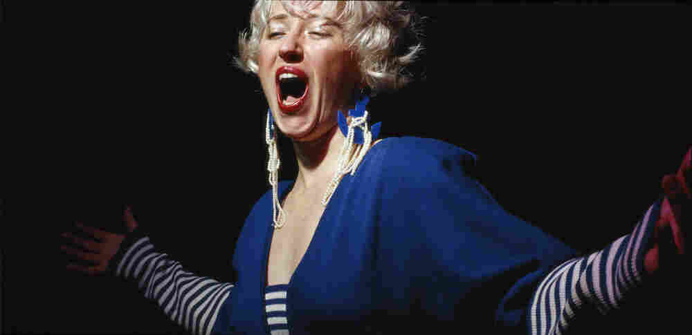 "Cindy Sherman. Untitled #119. 1983. Chromogenic color print, 48 1/2 x 94"" (115.6 x 238.8 cm)."