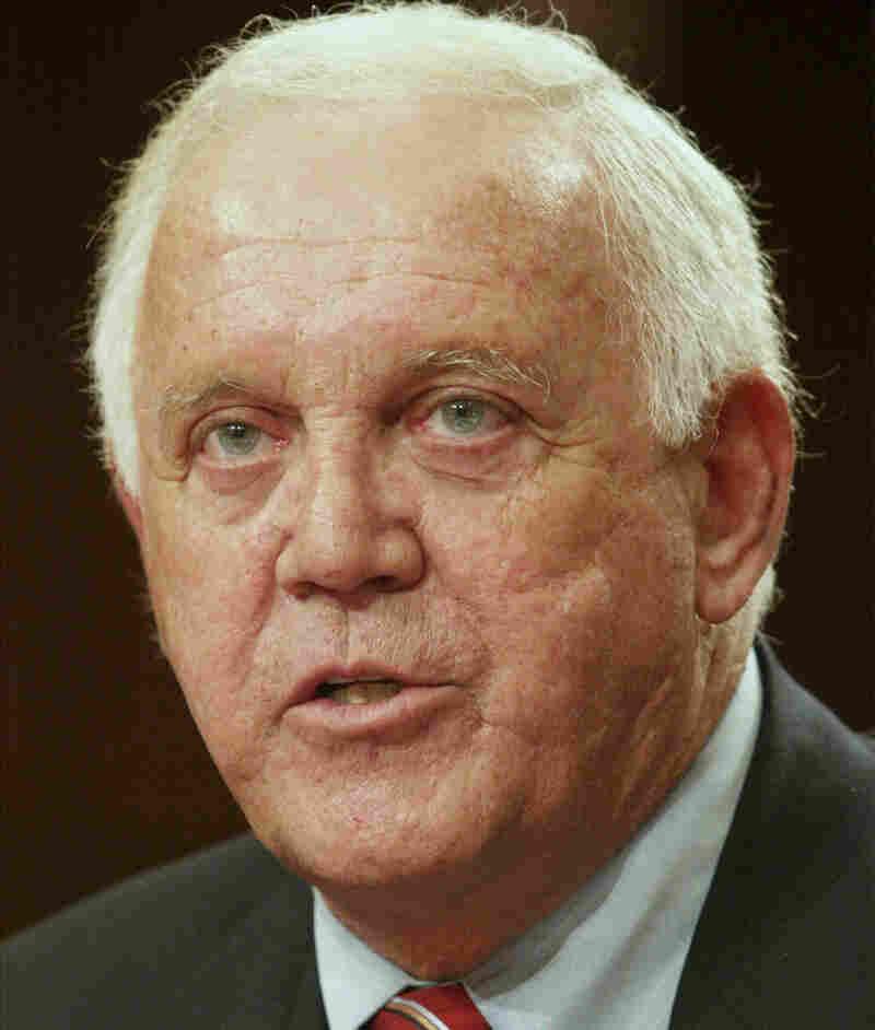 Former Sen. Warren Rudman, R-N.H., in 2002.