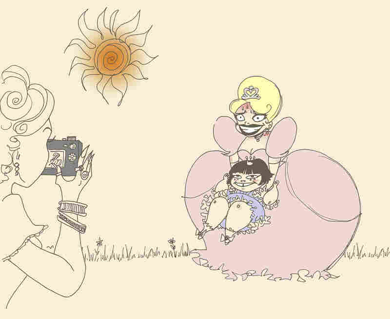 """""""Probably the most important rule of being is princess is: smile harder,"""" she says. """"Whenever something odd comes up ... smile harder!"""""""