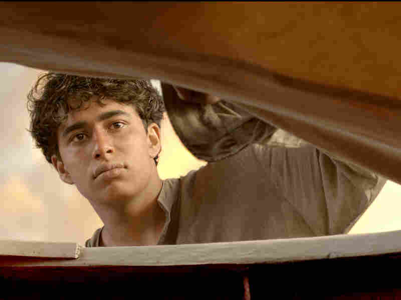 Suraj Sharma makes his motion picture acting debut as Pi Patel, a teenager who takes on an epic journey at sea.