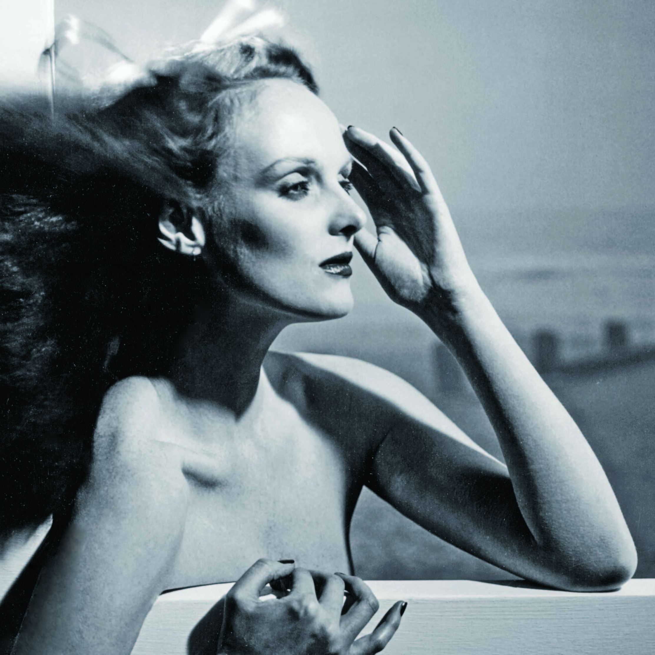 "Grace Coddington, shown above in 1974, is now the creative director at Vogue, but she started her career as a model. ""In those days, models had to know how to do everything themselves,"" she says."