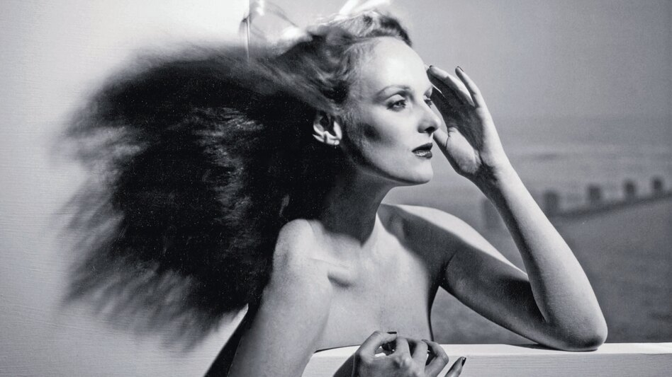 "Grace Coddington, shown above in 1974, is now the creative director at Vogue, but she started her career as a model. ""In those days, models had to know how to do everything themselves,"" she says. (Courtesy of Random House)"