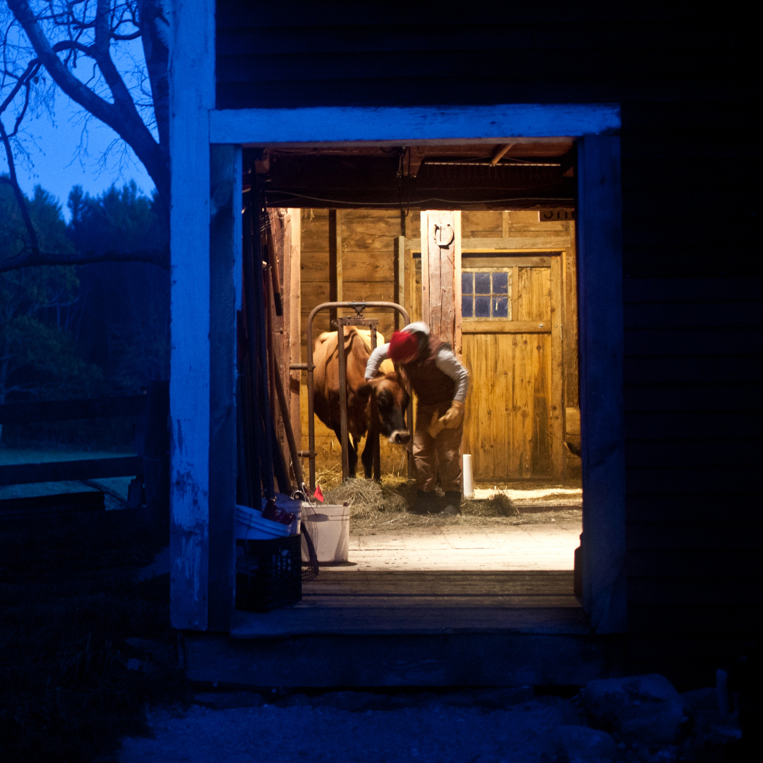 Images from Erik Jacob's series on Farm School.