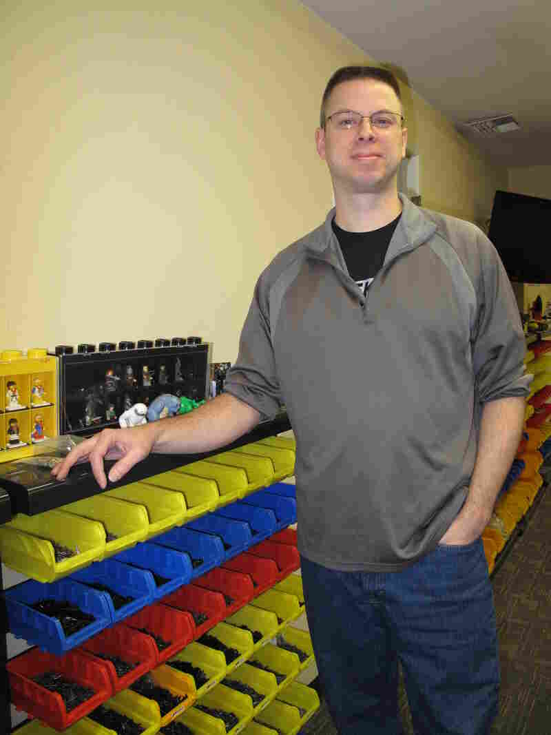 Will Chapman founded BrickArms after finding that Lego didn't have World War II pieces that his son wanted.