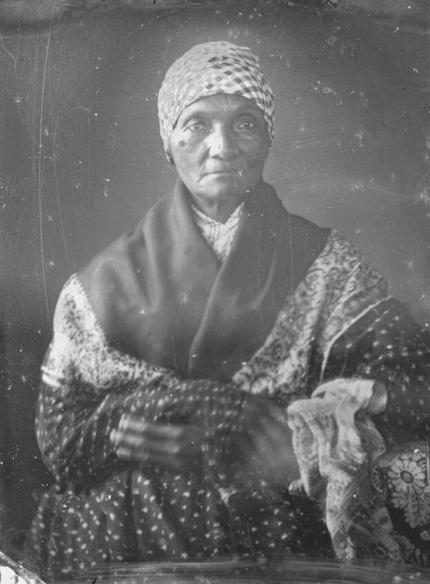 Dorcas Honorable, the last known Native American woman on Nantucket, who died in 1855.