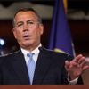 """Speaker of the House John Boehner, R-Ohio, speaks during a news conference in the Capitol on Nov. 9. Boehner has said Republican House leaders and Obama """"can find the common ground"""" on immigration policy."""