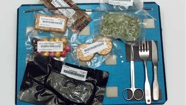 Space food. (courtesy NASA)