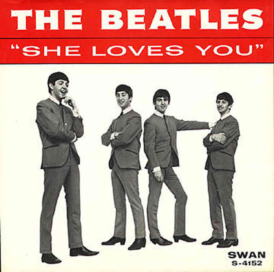 """She Loves You"" cover."