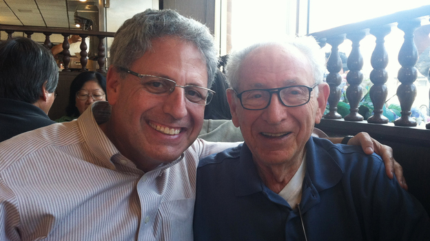 Gary Knell with his father, David. (Courtesy of Gary Knell)
