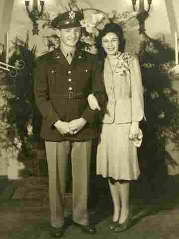 David Knell and his wife, Gertrude.