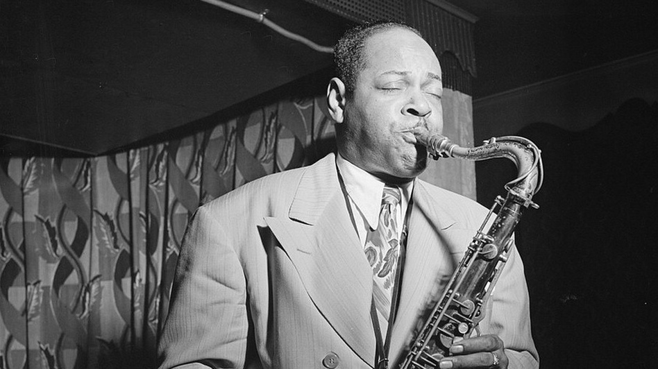 Coleman Hawkins in 1946. (The Library Of Congress)