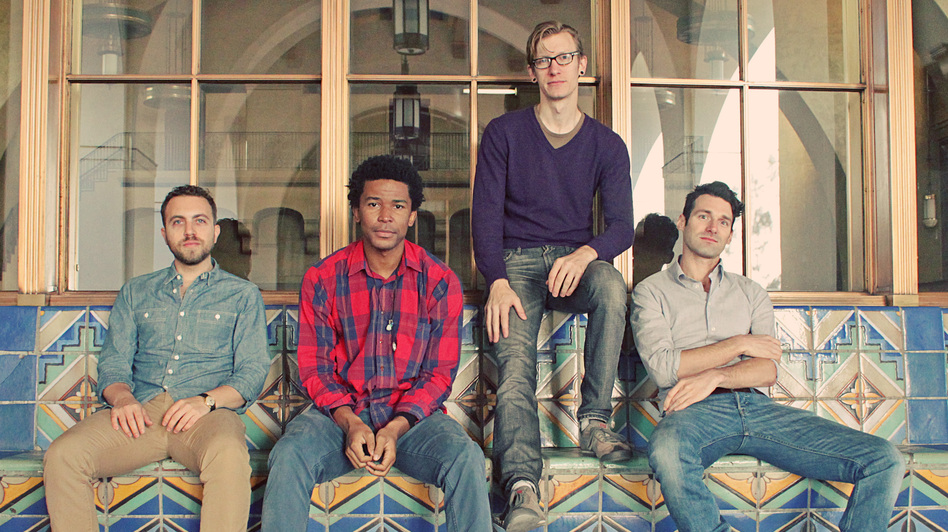 A House For Lions is, from left to right, Mike Nissen, Daniel Norman, Eric McCann and Joe Luisi. (Courtesy of the artists)