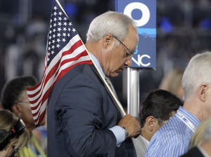 U.S. Rep. Joe Baca of California, shown at the 2008 Democratic National Convention, learned the power of superPACs firsthand this year, when he lost for the first time since he was elected in 1999.