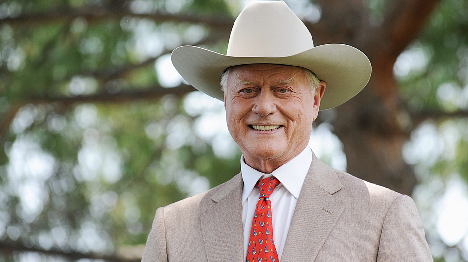 Actor Larry Hagman, star of the TV series <em>Dallas</em>, poses during the 2010 Monte Carlo Television Festival in Monaco on June 8, 2010.