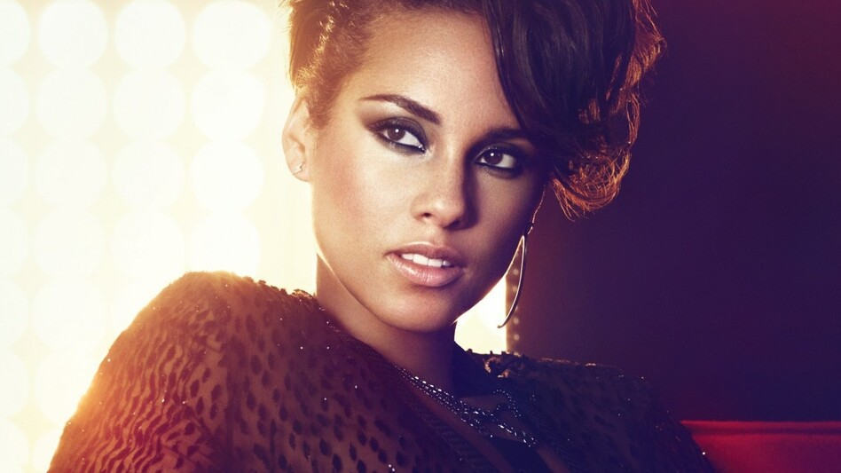 Alicia Keys' latest album is called <em>Girl on Fire</em>.
