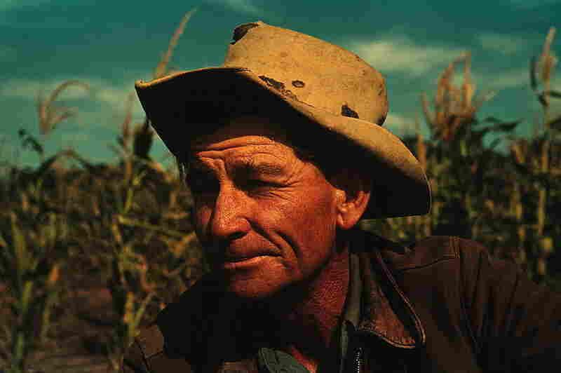 Jim Norris, homesteader, Pie Town, 1940