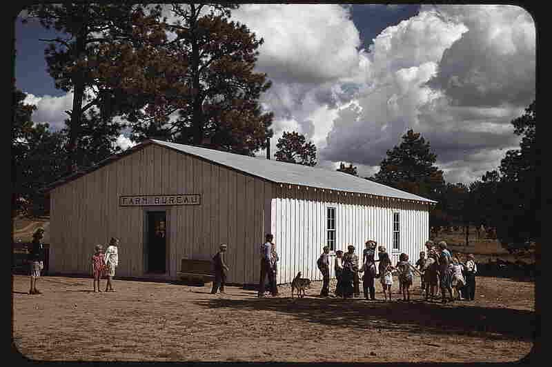 School held at the Farm Bureau building, 1940