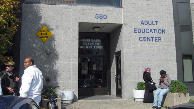 Administrators at the adult education center are concerned that the GED overhaul will make it harder for many test takers to complete the exam. (WNPR)