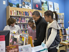 President Obama and daughters Sasha and Malia  go shopping at a small bookstore, One More Page, in Arlington, Va. This is shaping up to be a better holiday season for independent booksellers than in past years.