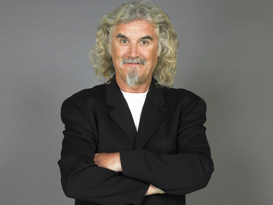 Comedian Billy Connolly received that Outstanding Contribution to Television and Film Award at the 2012 BAFTA Awards in Scotland. (Tony Lyon)