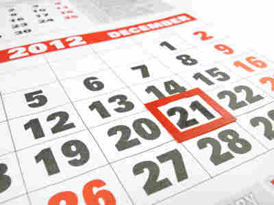 Some doomsayers predict that the world will end on Dec. 21, 2012, citing the end of the pre-Columbian Mayan calendar.